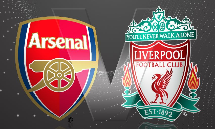 Arsenal v Liverpool charroux