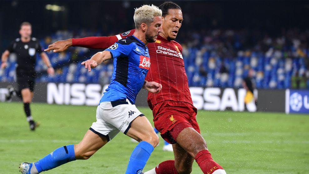 Liverpool v Napoli